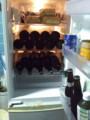 [twitter] うちの三台目の冷蔵庫の中がEVAのミサトさんの冷蔵庫の中のようにな