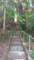 雨宮神社その2 見えないけど、この上に神社が