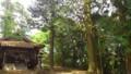 [twitter] 雨宮神社その4 ホント綺麗な小高い山の木に囲まれた場所にありま