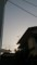 夕焼けではなく、中国からのアレでこんな空の色に('A`)y-~