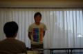 鈴木(孔)先輩の留学のお話から夏合宿はスタートしました!!