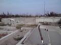 荒浜地区の被害状況を視察(その7)