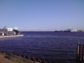 江戸川放水路河口付近