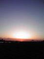 夕暮れの江戸川