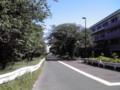 江戸川水閘門付近