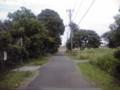江戸川放水路への抜け道。