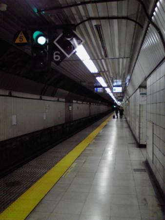 JR馬喰町駅構内