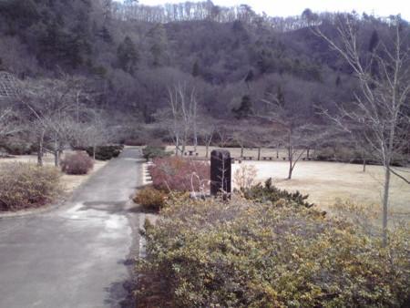 七北田ダム付近