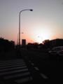 黄昏の京葉道路