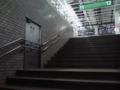 新幹線の地下ホーム入り口w(仙台駅)
