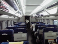 ●●号車が空いているとのアナウンス。秋田新幹線の車両でした。。。
