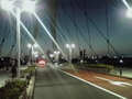夜間、かつ逆光・・・撮影設定が難い
