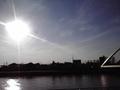 初冬の新中川