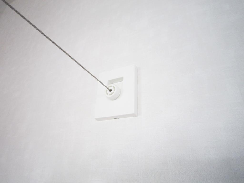 室内干し ワイヤー使い方