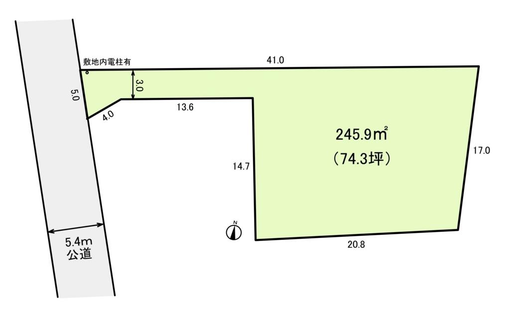 中古住宅 公図