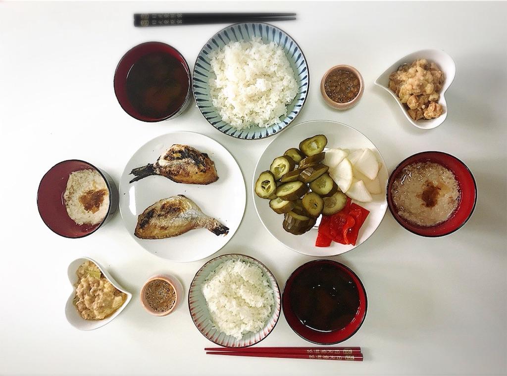 健康的な食卓