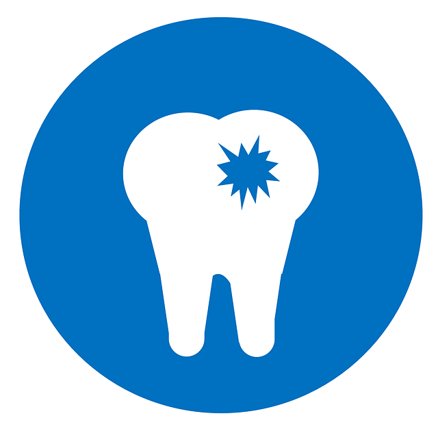 虫歯のマーク