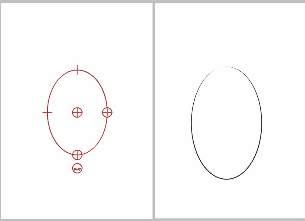 アイビスペイント 楕円定規