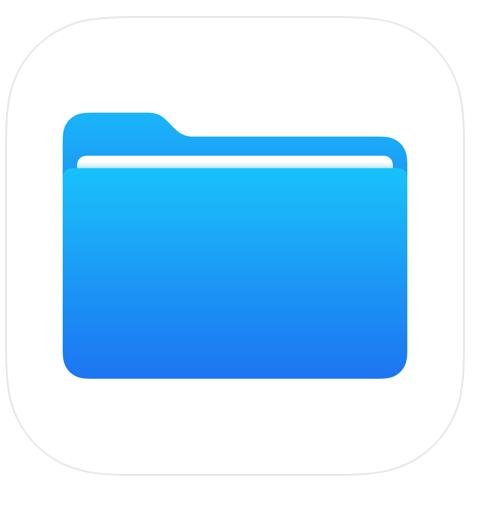 iOS ファイルアプリ