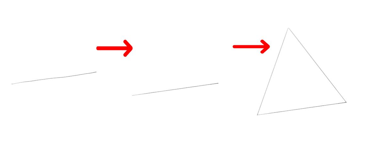 Adobe Fresco スナップライン3