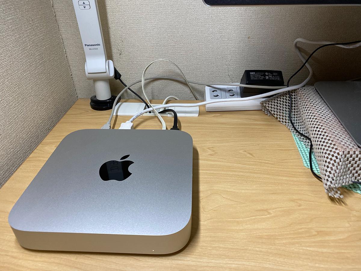 M1搭載Mac miniその1