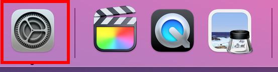 Mac デスクトップ「設定」