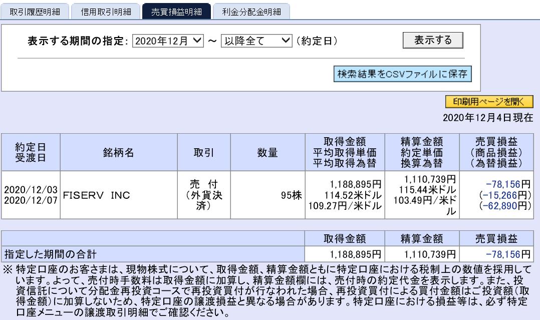 株で稼ぐ Kensinhan の投資ブログ 株式投資損益確定