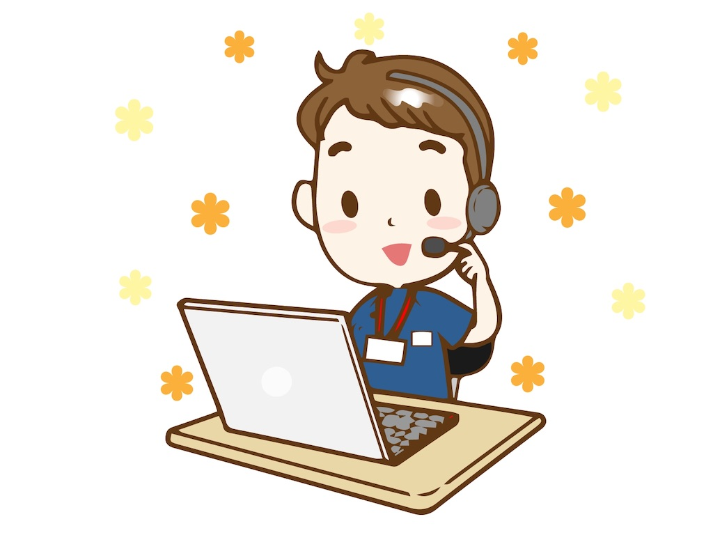 学校への営業担当がオンライン英会話の立ち合いで行っていること