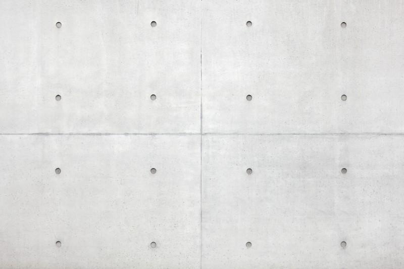 コンクリート 丸い跡