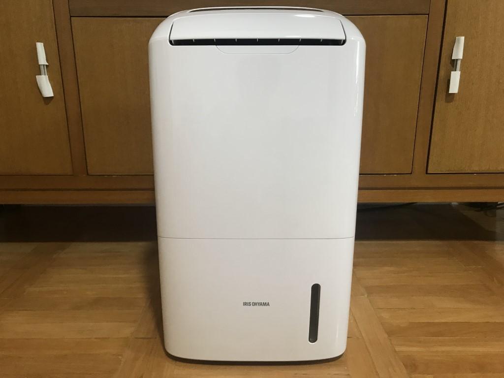 アイリスオーヤマ空気清浄機能付き除湿機(DCE120)の口コミと評判