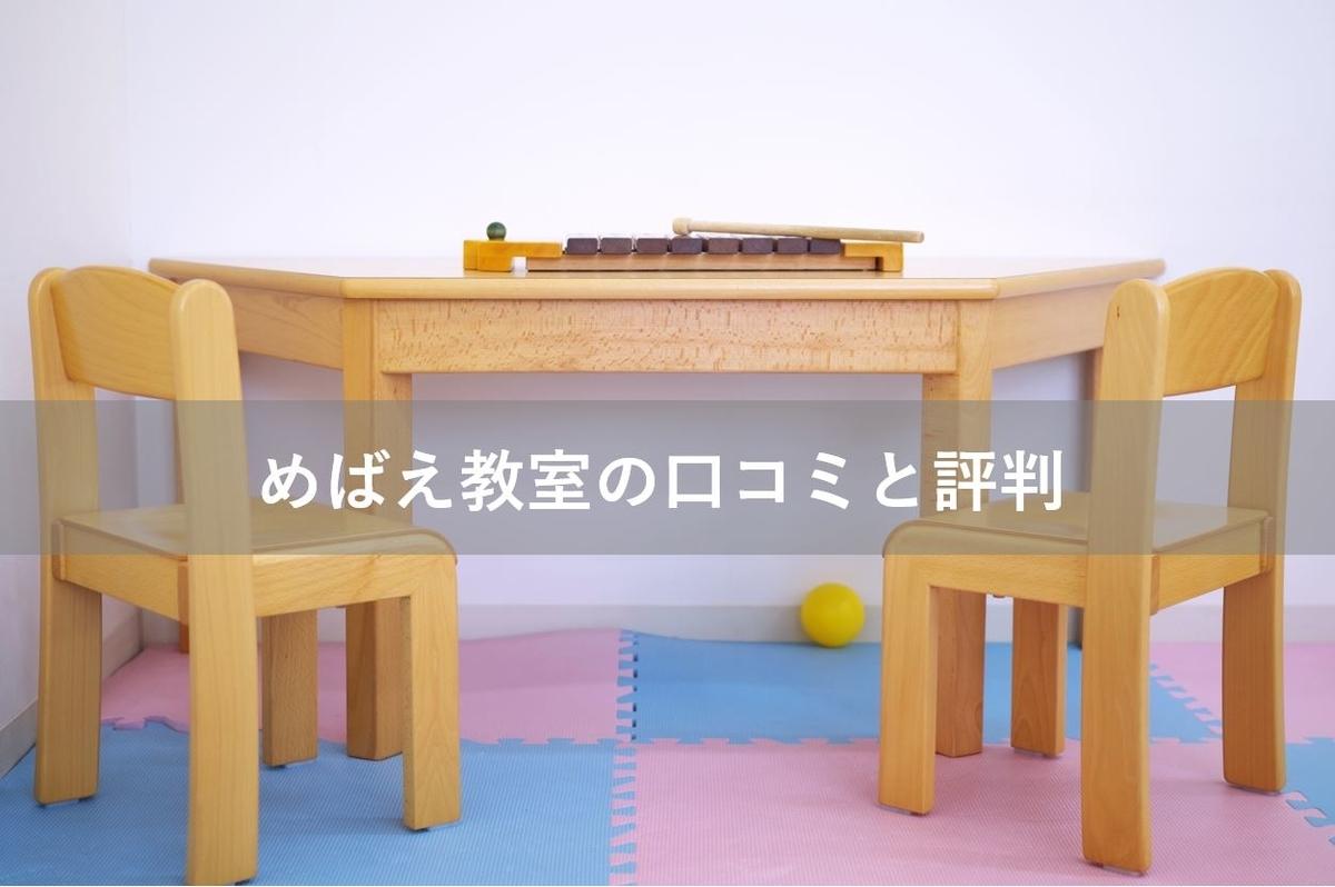 めばえ教室 口コミ 評判