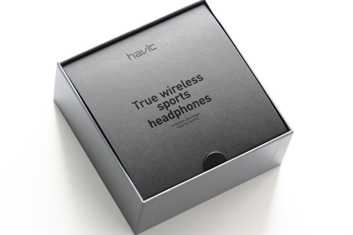 高級感のあるHAVIT I93のパッケージ