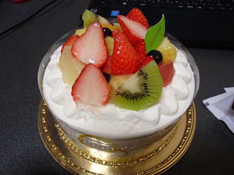誕生日おめでとう! おれ。(-_-)