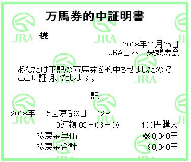 2018 京阪杯