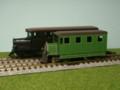 サンデーリバーレールバス。手前がアルモデル、奥が杉山模型