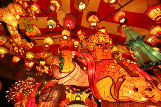 長崎ランタンフェスティバルの写真です