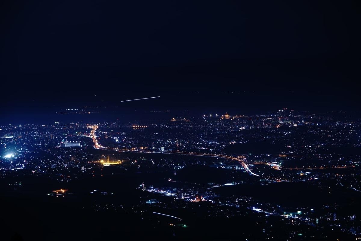 米ノ山展望台の夜景