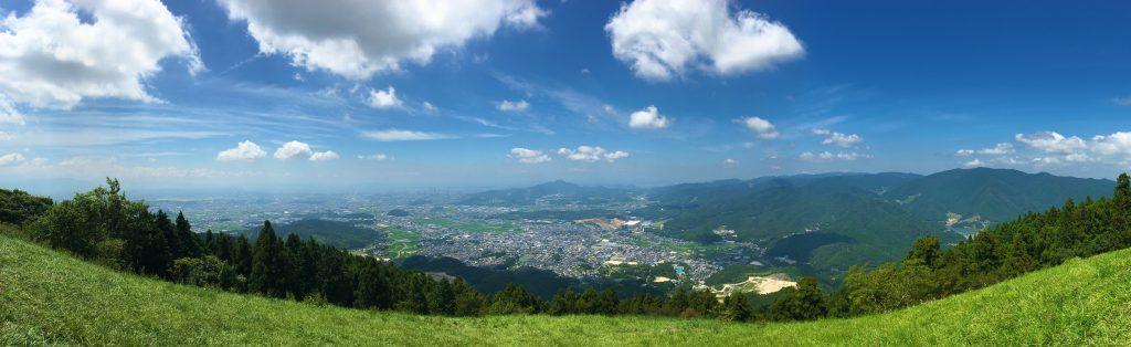 米の山展望台の写真