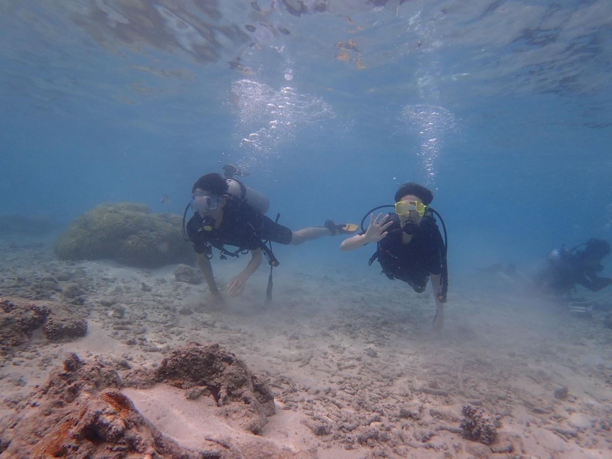 グアムのダイビングの写真