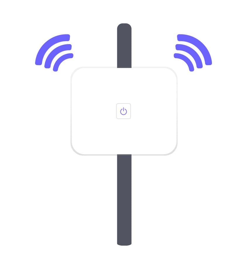 一軒家Wi-Fi届かない