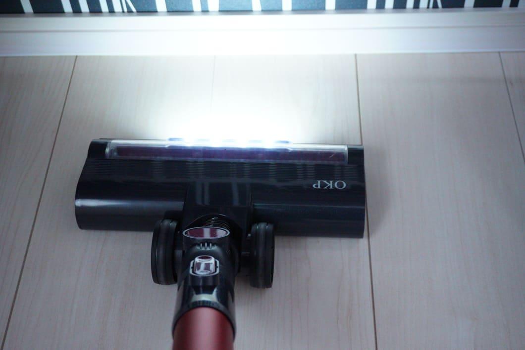 掃除機LED光る