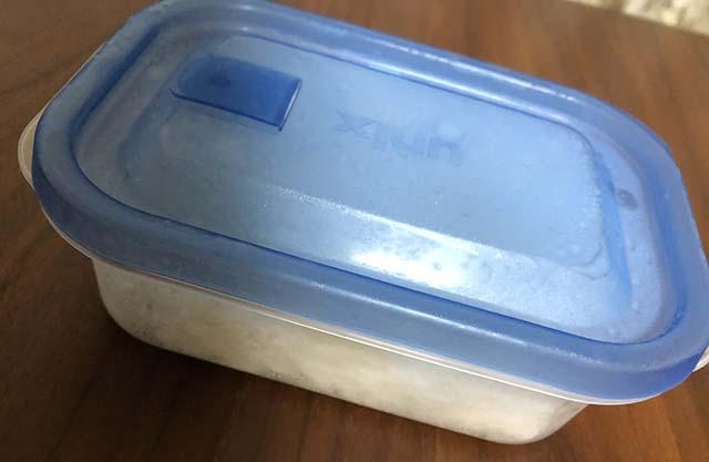 冷凍したパックのご飯