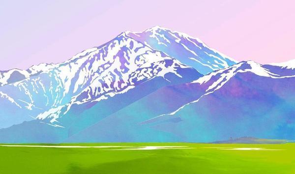 山岳イラスト