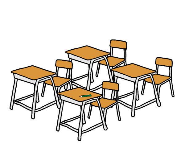 教室イラスト
