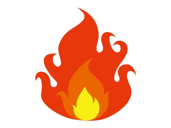 炎イラスト