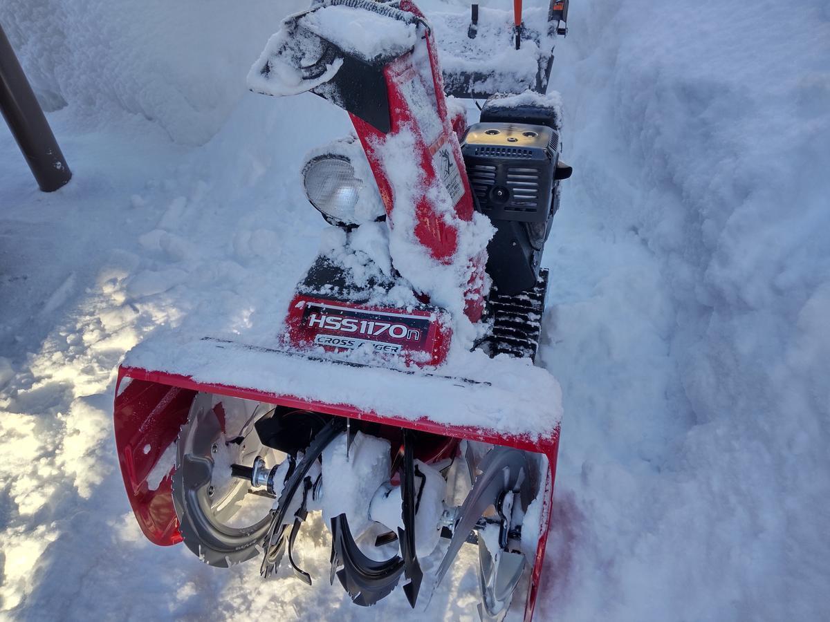 除雪機の写真