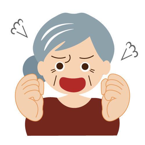 婆ちゃんが寝室に泣きながら怒鳴り込んできた