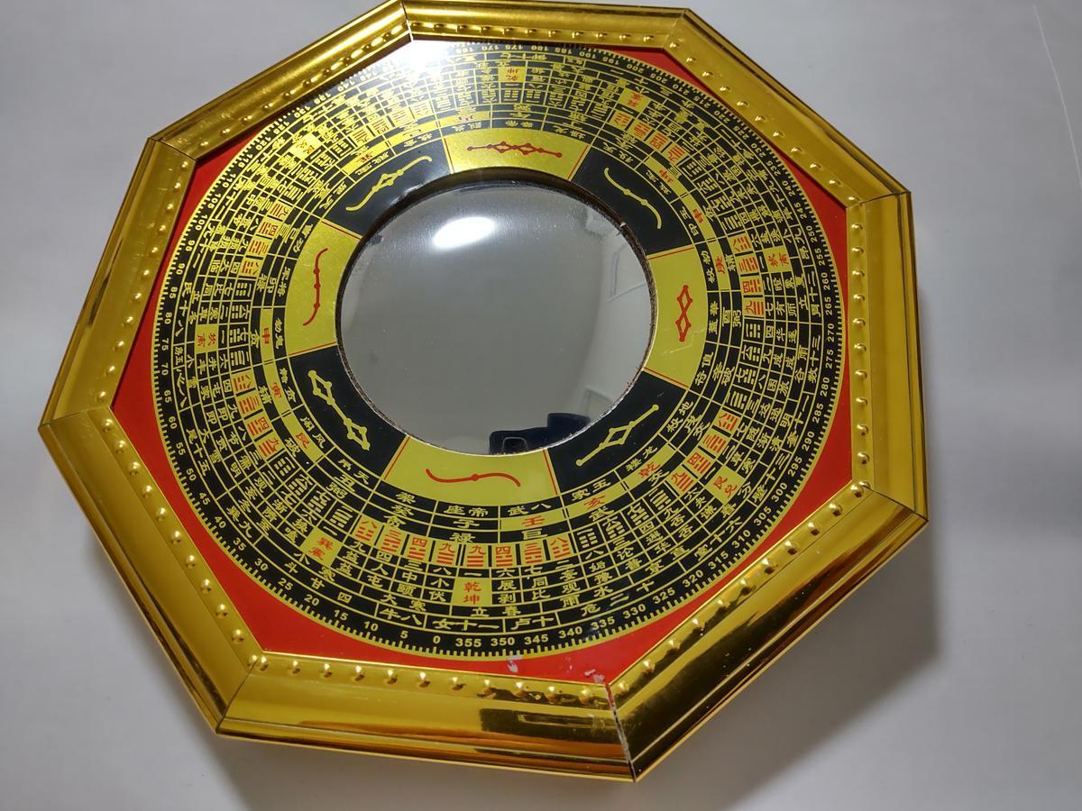 八卦羅盤凸面鏡