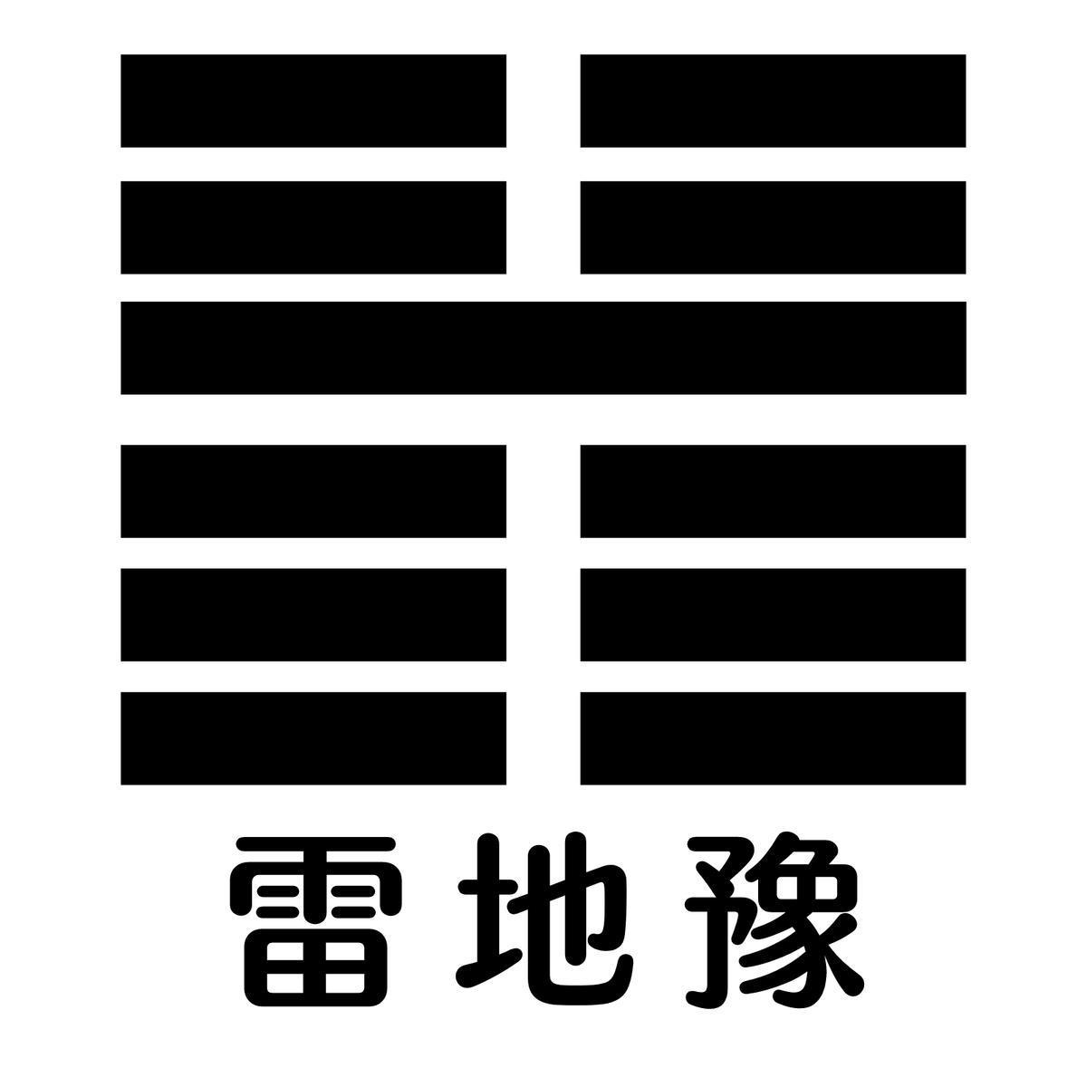 「雷地予」(周易)