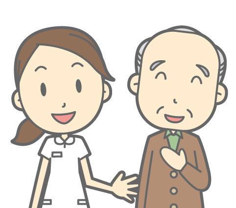 看護師さんと祖父